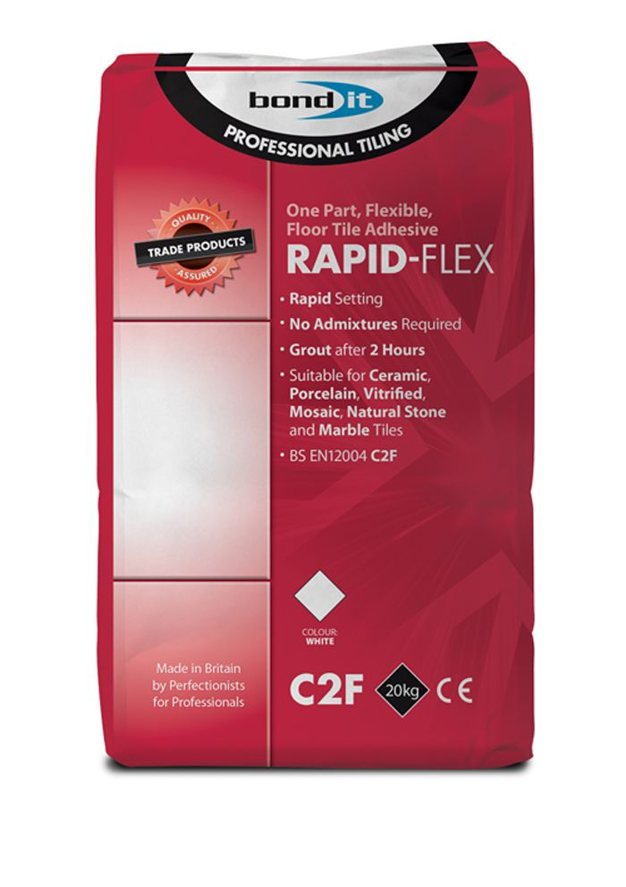 Top Bond-It Rapid-Flex Tile Adhesive VE53