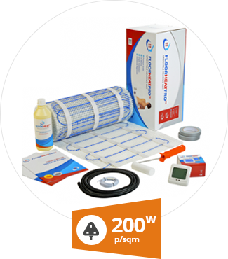 Why use 200w undertile heating mat kit